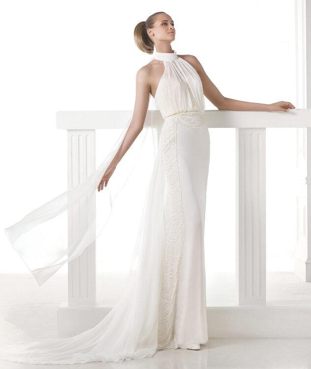 Wie Sie im Standesamt strahlen: Trendige Brautkleider der aktuellen ...