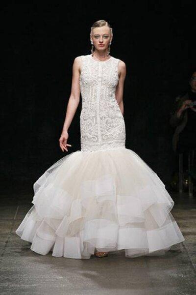 Foto: Lazaro @ New York Bridal Fashion Week