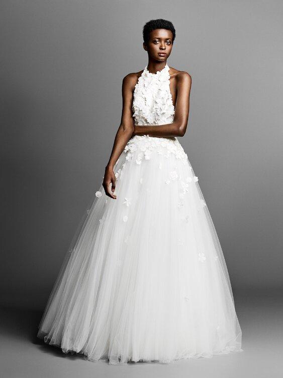 40 vestidos de novia cuello halter. ¡Deslumbra con estos diseños tan ...