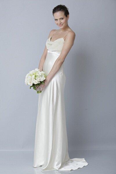 Colecção de vestidos de noiva Theia 2013, apresentada na New York Bridal Fashion Week