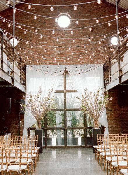Оформление свадьбы в индустриальном стиле 2017