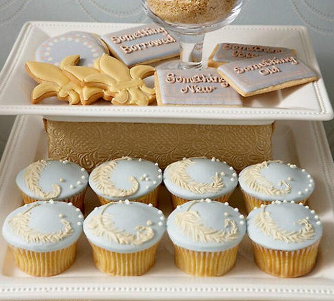 Cupcakes by Bleu et Blancs