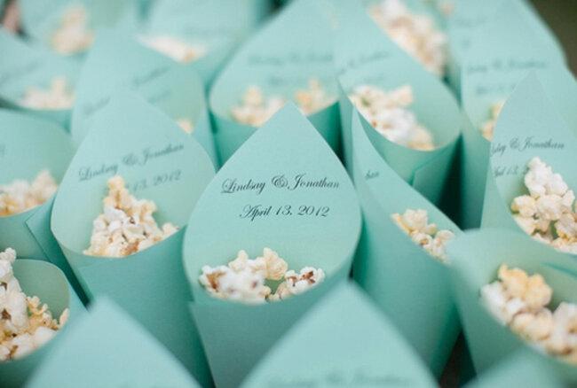 Popcorn F R Eine Hochzeit Im Thema Kino