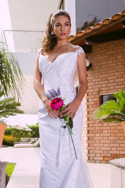 Vestidos de novia corte sirena 2017