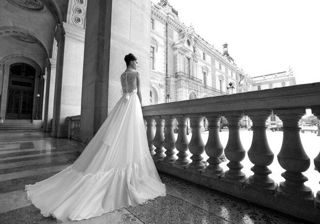 Suknia ślubna projektu Inbal Dror 2011