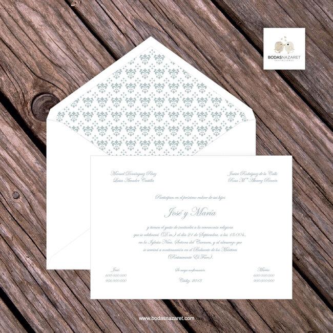 Ideas para invitaciones de boda 2015 sencillas y rom nticas - Bodas sencillas y romanticas ...