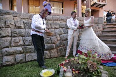 El matrimonio andino de 2people1life ¿habías pensado en Cusco y Arequipa como destination wedding?