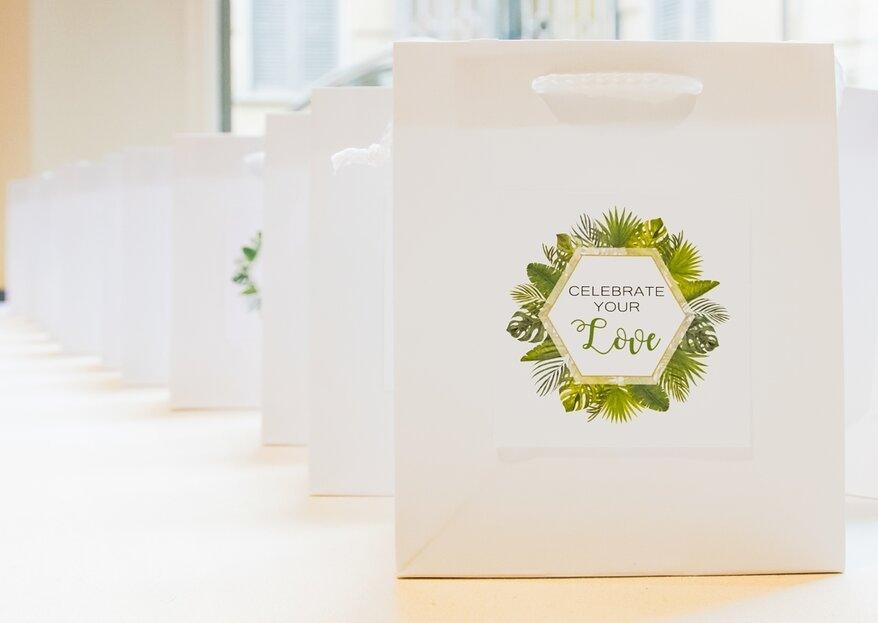 Ad ogni stagione la sua wedding bag: un pensiero speciale per i vostri invitati