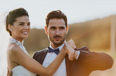 Elena + Alexandre : leur sublime mariage dans un domaine viticole du Var