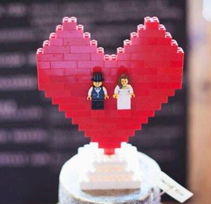Matrimonio Tema Lego : Decorazioni per matrimonio originali: prova con i lego!