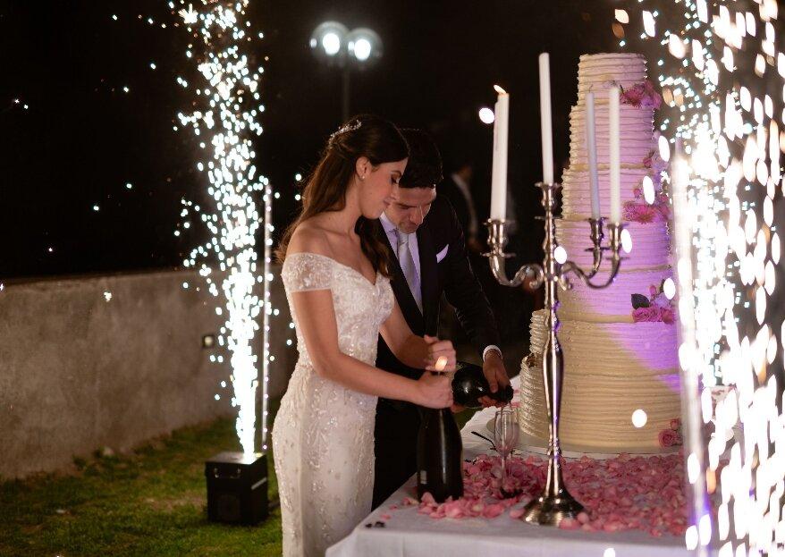 Francesco e Teresa, un real wedding da favola grazie all'estro di Stefano, titolare di Incantevole Wedding & Event Planner