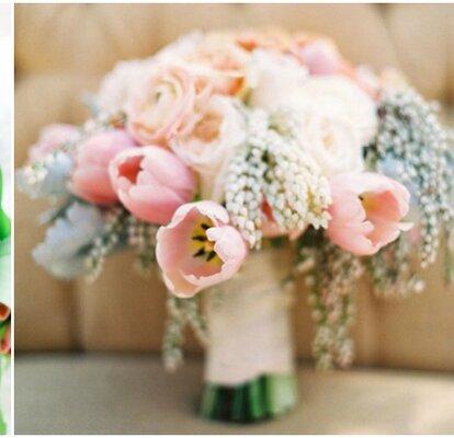 Tulipani Bouquet Sposa.Bouquet Da Sposa Di Tulipani Colore E Brio Per Il Tuo Grande Giorno