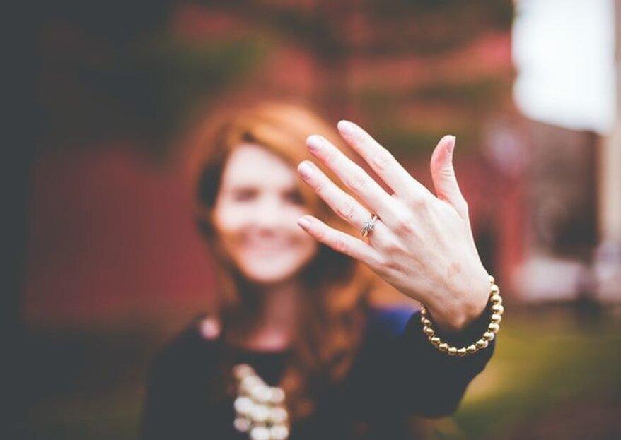 Ehering und Verlobungsring in der Schweiz! An welche Hand gehören sie denn nun?