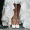 Unas zapatillas de novia que no podrán dejar de admirar.