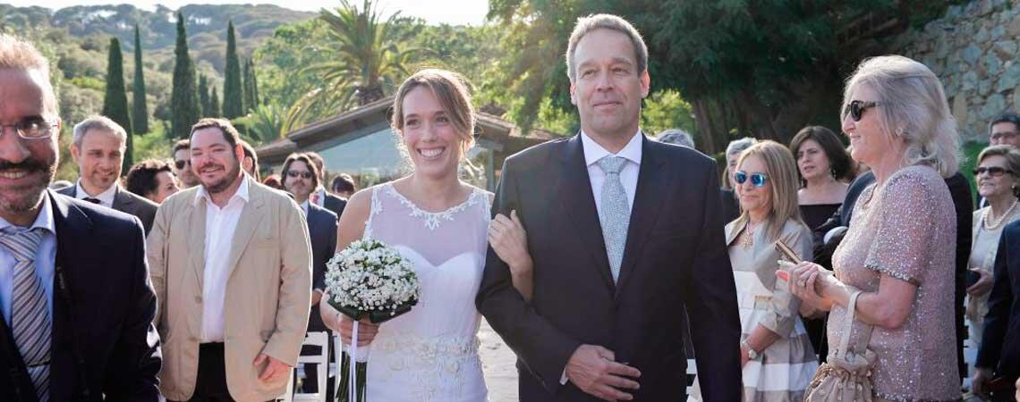 Love is in the air: la boda de Laura y David