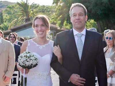 Love is in the air: la boda de Laura y David