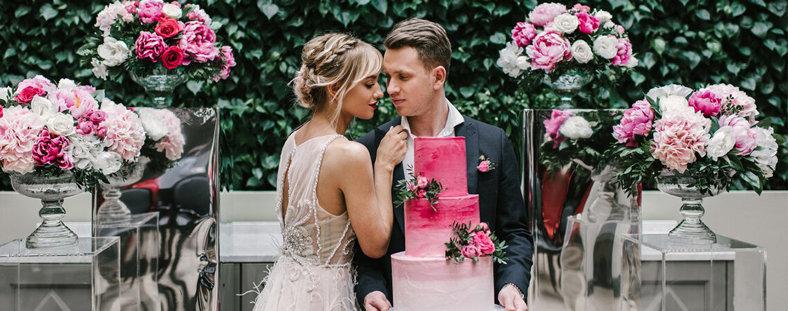 Свадебный торт 2018: самые вкусные идеи