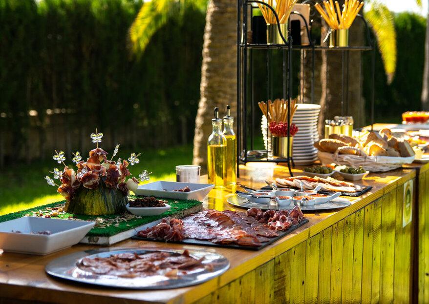 La Victoria y D'Buen Gusto son dos apuestas de variedad, calidad y originalidad para el catering de tu boda