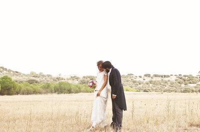 La originalidad de María y Delu: una boda segoviana llena de detalles muy especiales