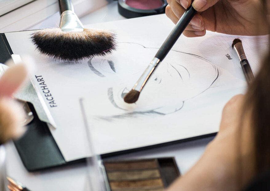 Escoge el peinado para el día de tu boda según la forma de tu cara
