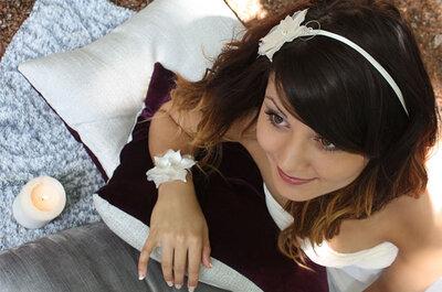 Bijoux de mariage Nuage de Perles : des créations sobres et raffinées