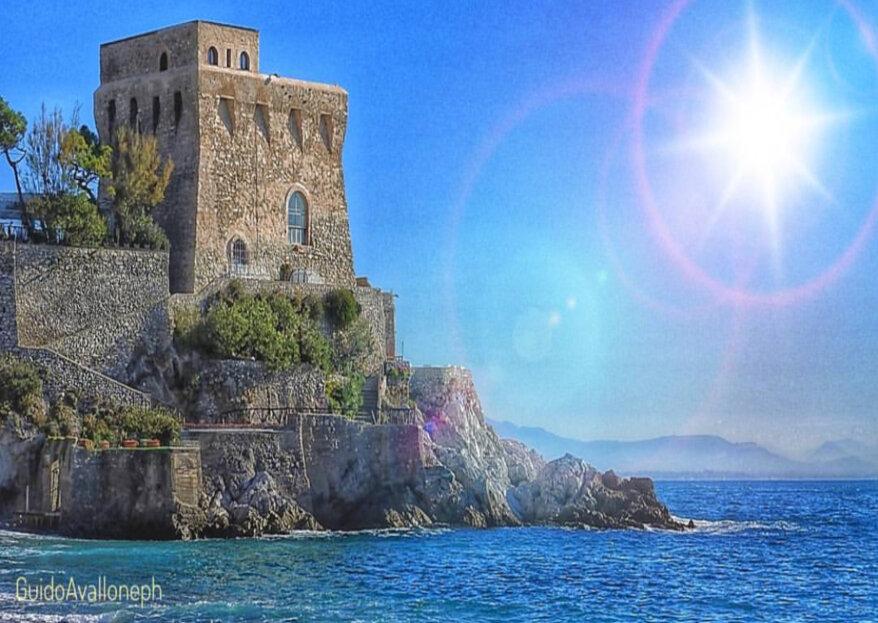 Il dolce suono delle onde del mare che accompagnano le tue nozze: Torre La Cerniola