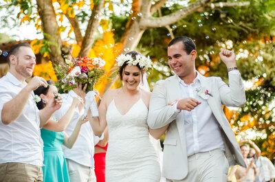 Casamento celta de Noélle & Ravi: emoção de frente para o mar de Búzios