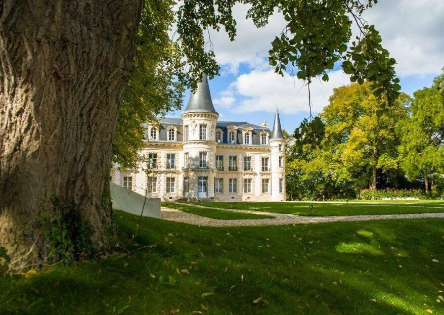 Découvrez le Château d'Hardricourt et faites de ce lieu de prestige l'écrin de votre mariage