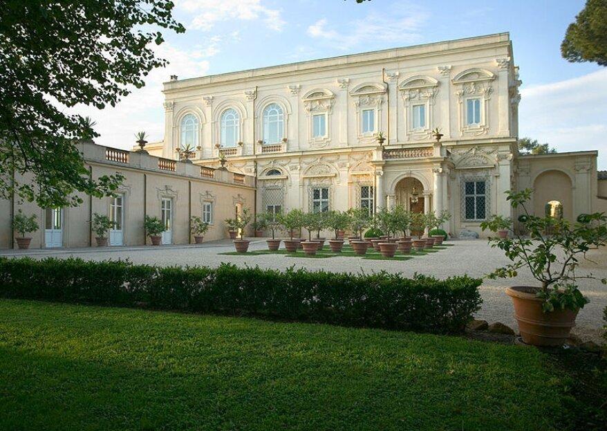 Villa Aurelia, una culla di arte, storia e tradizione come cornice per le vostre nozze
