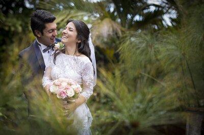 Florence y Daniel: un amor franco-colombiano, romántico y chic