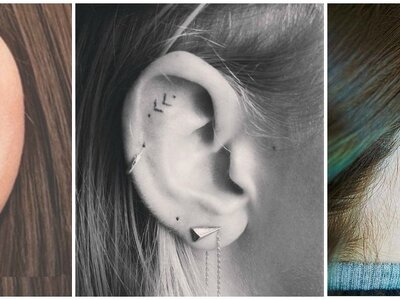 5 piccoli tatuaggi stilosi visti su Instagram