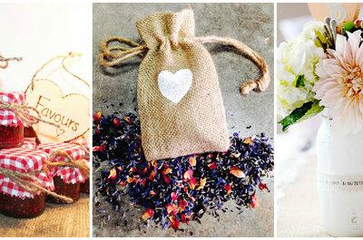 Cómo tener los mejores detalles de boda con los invitados: 18 regalos que nunca imaginaste