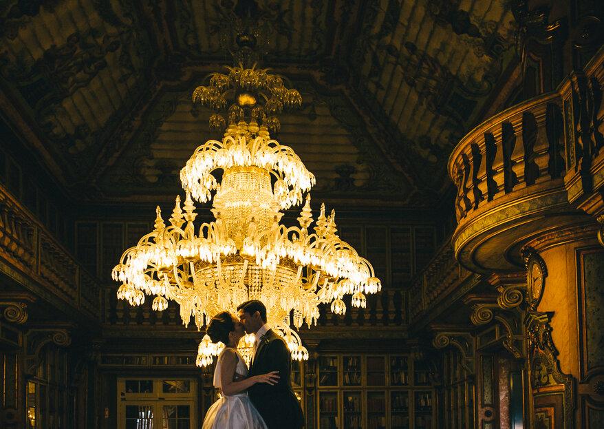 Os 5 pormenores que fazem toda a diferença num casamento de luxo e de glamour