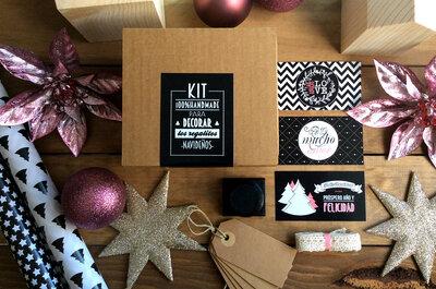 Los mejores decoradores de bodas te enseñan a envolver de forma creativa tus regalos de Navidad