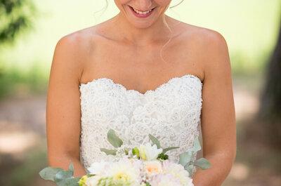 Stéphanie + Bastien : un mariage dans les tons pastel sous le soleil d'Occitanie