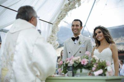 Destination Wedding de Manu & Piero em Ilhabela: à beira-mar e ao pôr do sol com noiva espetacular!