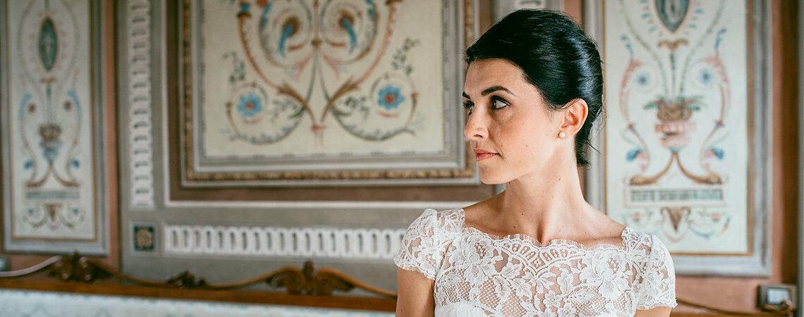 5 abiti da sposa per un matrimonio elegante
