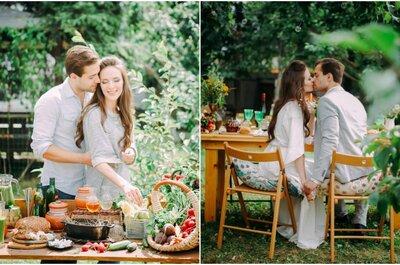 Любовь-морковь: свадьба для двоих!