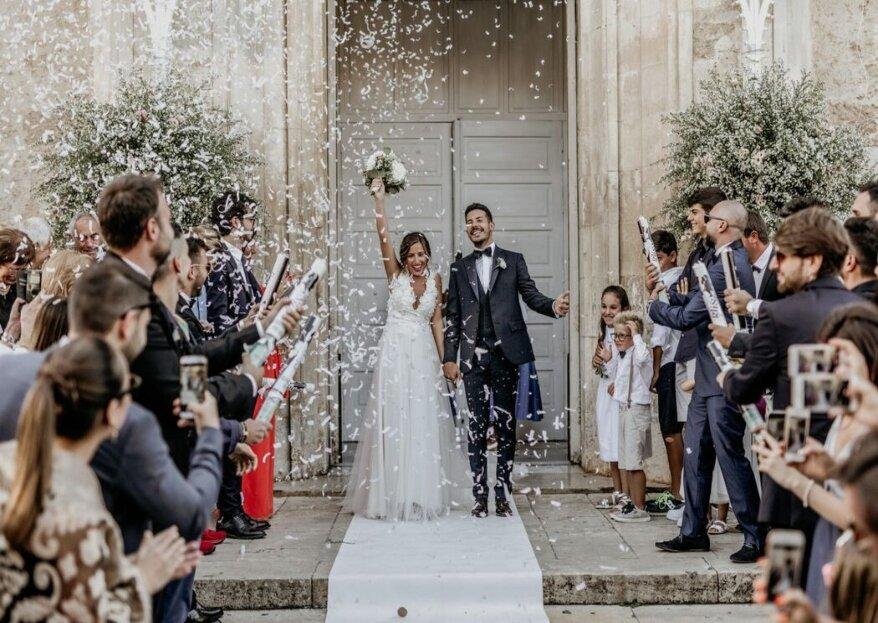 Eleganza, stile e padronanza tecnica saranno il fil rouge degli scatti matrimoniali affidati al team di Francioso studios
