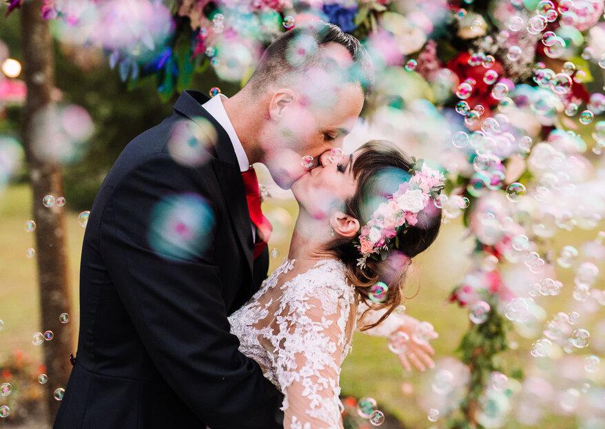 El mejor día de sus vidas fotografiado por José Castaño: así fue la boda de Irene y Pablo