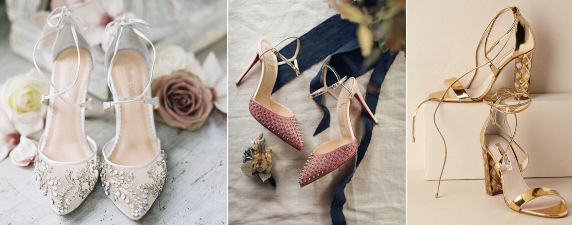 f3d0683c3 64 sapatos de noiva 2019 que não vai querer deixar escapar. Do que está à  espera?