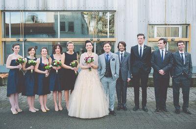 Real Wedding: Una boda vintage inspirada en la cultura Pop... ¡Deleite a la vista!