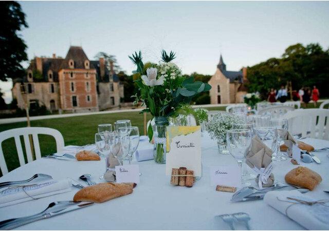 Château de Courcelles Le Roy: свадьба во французском замке!