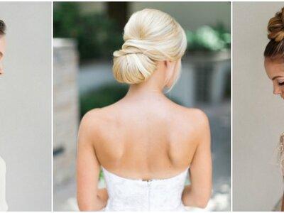 Los chongos para novia más lindos que verás en mucho tiempo: ¡Peinados top!