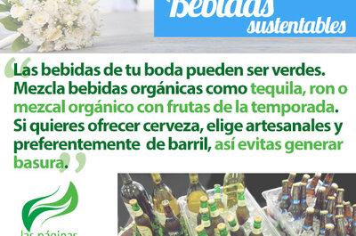 Bebidas sustentables para una boda ecológica en 2013