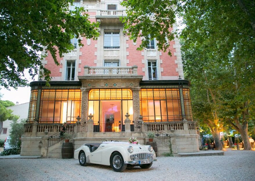 Château la Beaumetane, un lieu de réception intimiste et chaleureux sous le soleil de la Provence