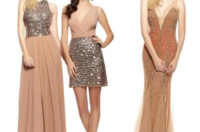 Apuesta por un vestido de fiesta con brillo