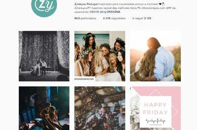 Tudo o que o Instagram nos ensinou sobre os casamentos (o bom e o mau)!