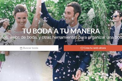 ¡Crea tu Web de Boda y Mesa de Regalos con Zankyou y ten una boda a tu manera!