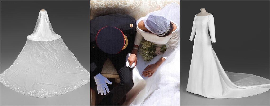 Die Hochzeitsoutfits von Prinz Harry und Meghan werden ausgestellt!